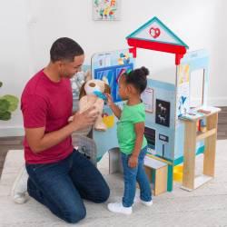 Clinique vétérinaire pour enfant en bois