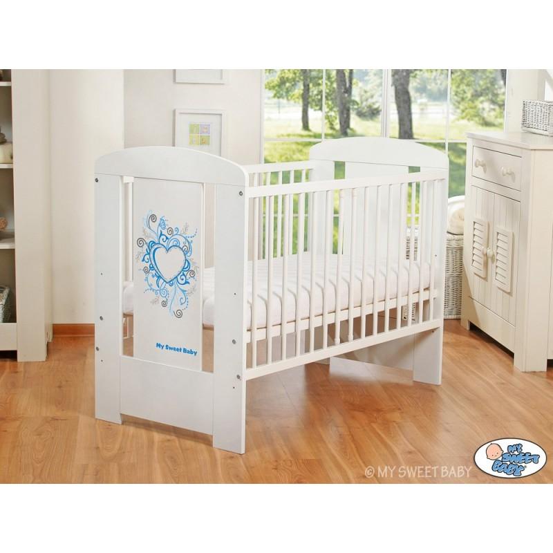 lit pour b b collection chic bleu lit pour enfant pas cher. Black Bedroom Furniture Sets. Home Design Ideas