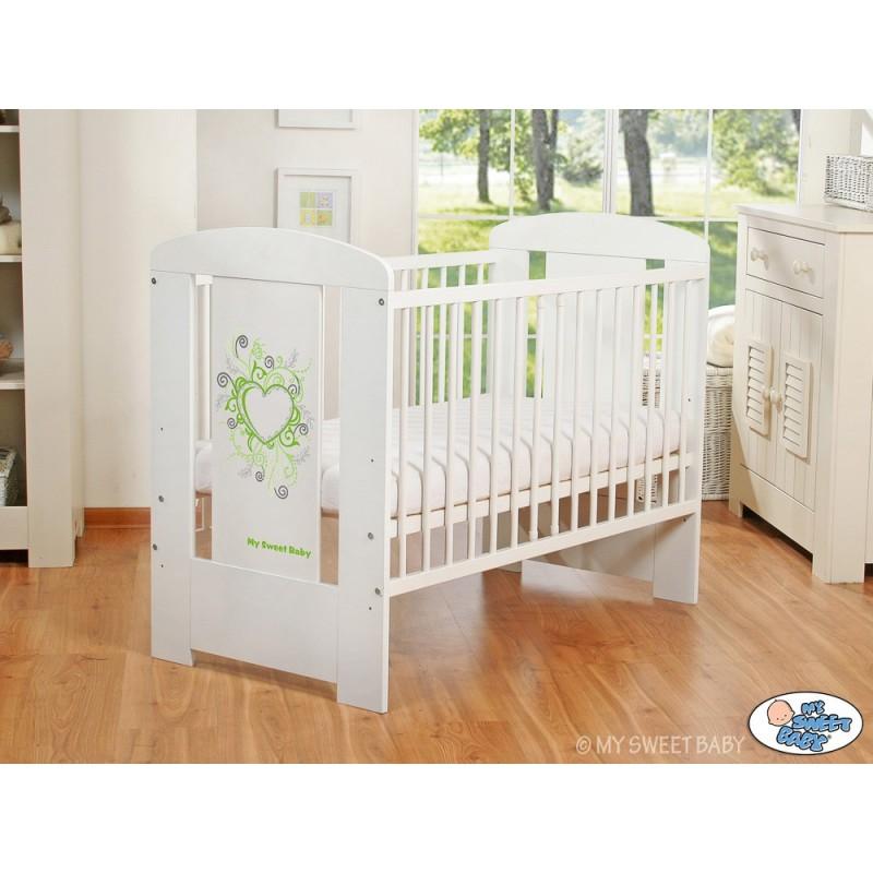 lit enfant collection chic vert achat vente lit pour b b. Black Bedroom Furniture Sets. Home Design Ideas
