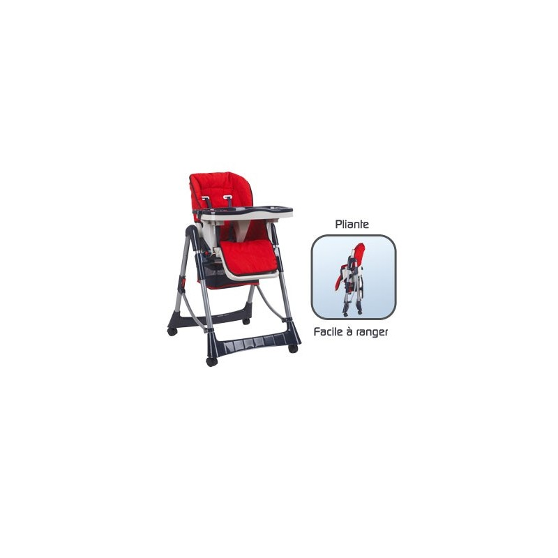 Chaise haute marin pliante pour b b achat vente for Chaise haute pour table