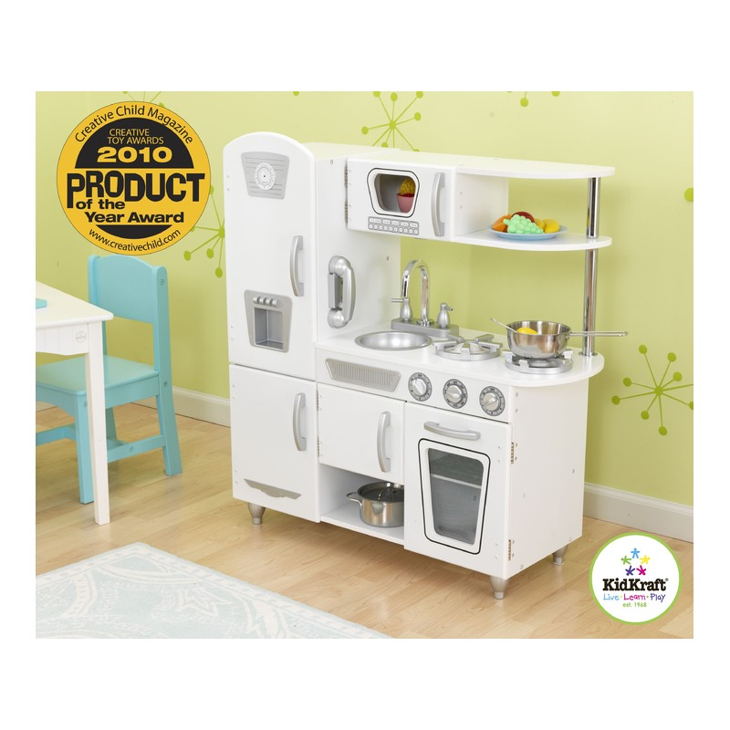 cuisine vintage blanche cuisine pour enfant. Black Bedroom Furniture Sets. Home Design Ideas