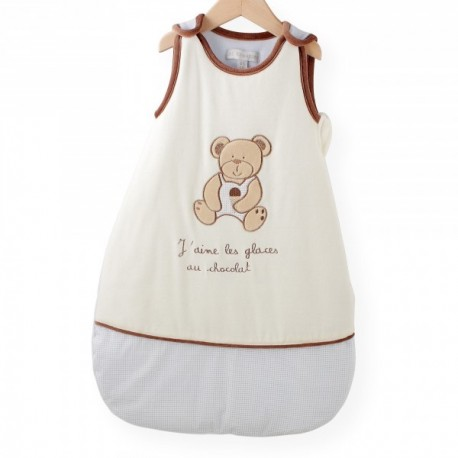 gigoteuse ours chocolat naissance