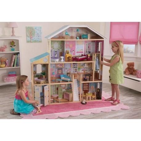Maison de poupées majestueuse