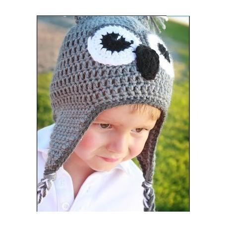 69aee25cc6d Bonnet koala pour bébé gris - Vêtement pour enfant