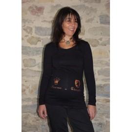 Bandeau de grossesse Princesse ou Chevalier Noir