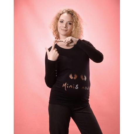 T Shirt de grossesse Minis Nous
