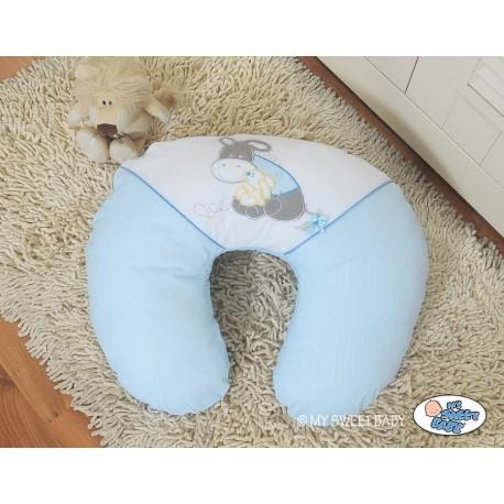Coussin d 39 allaitement motif ne accessoire pour b b - Lit bebe allaitement ...