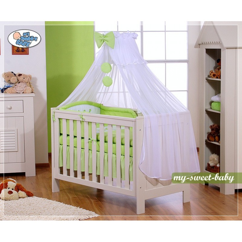 parure de lit b b prince ou princesse vert linge de lit b b. Black Bedroom Furniture Sets. Home Design Ideas