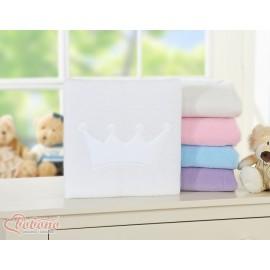 Couverture polaire pour bébé prince princesse