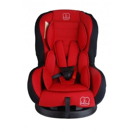 Siège auto Tojo inclinable rouge groupe 0+-1 babygo