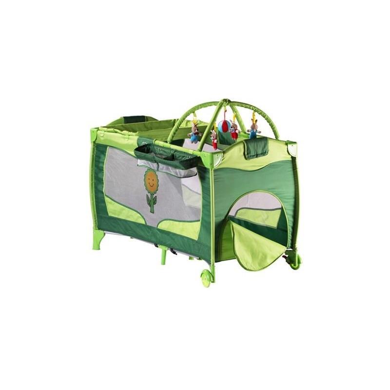 lit parapluie sleeper vert lit pliant pour b b. Black Bedroom Furniture Sets. Home Design Ideas