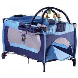 Lit parapluie sleeper bleu babygo