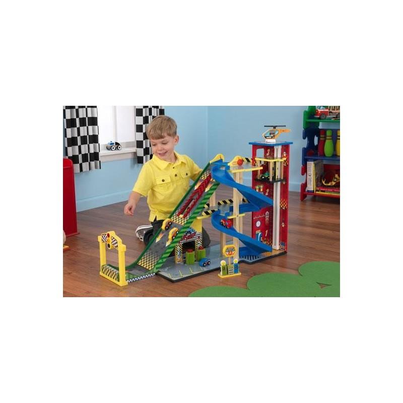 Rampe de course de voitures ensemble de jeux pour enfant - Course de voiture enfant ...