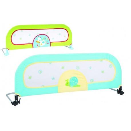Barrière de lit rabattable bleu