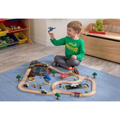Circuit de trains bucket top mountain