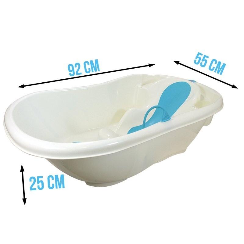 baignoire b b baby plouf xl bleu accessoires pour b b. Black Bedroom Furniture Sets. Home Design Ideas
