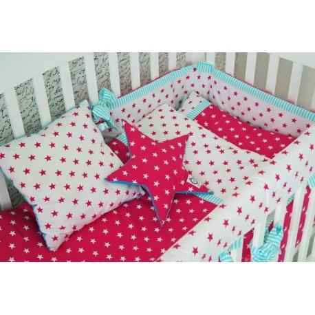 Parure de lit bébé Confetto 6 pièces