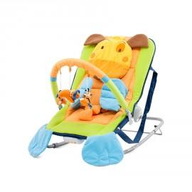 transat pour bébé musical et vibration chien