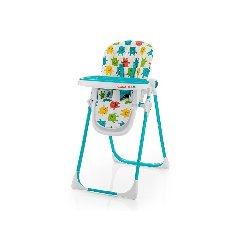 chaise haute r glable pour b b noodle monster mash cosatto. Black Bedroom Furniture Sets. Home Design Ideas