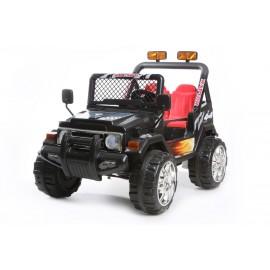 4X4 jeep électrique 2 places 12V noir