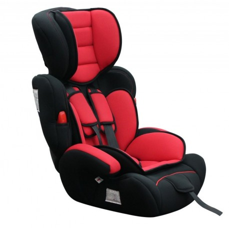 Siège auto rouge confort groupe 123