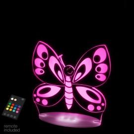 veilleuse pour bébé à led Sleepy Light Le papillon
