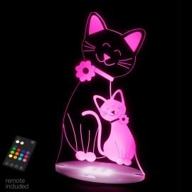 veilleuse pour bébé à led Sleepy Light Le chat