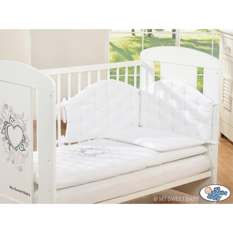 Parure de lit b b chic blanche linge de lit b b - Parure de lit chic ...