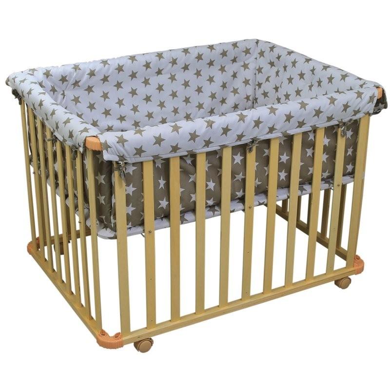 parc d 39 activit pour b b rectangulaire hauteur r glable. Black Bedroom Furniture Sets. Home Design Ideas