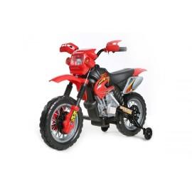 motocross électrique pour enfant 6V rouge