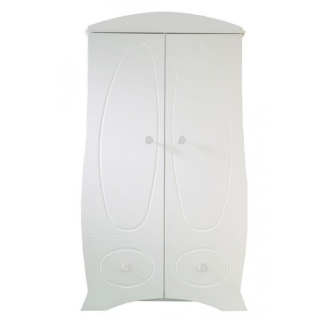 armoire pour bébé blanc Perle