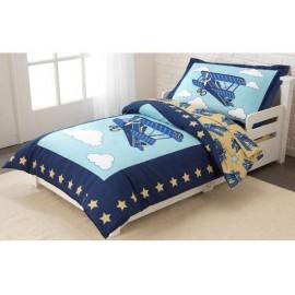 parure de lit pour enfant avion