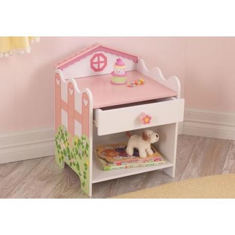 Table de chevet maison de poupée