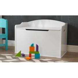 Coffre à jouets pour bébé Austin blanc - Chambre bébé