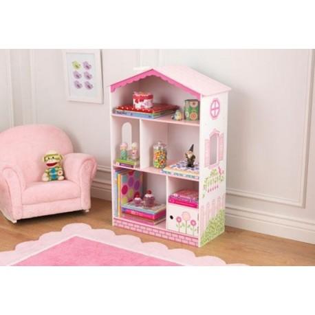Bibliothèque Maison de poupée