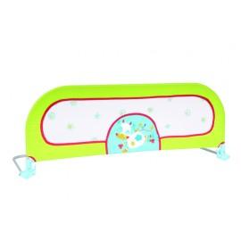 Barrière de lit rabattable vert