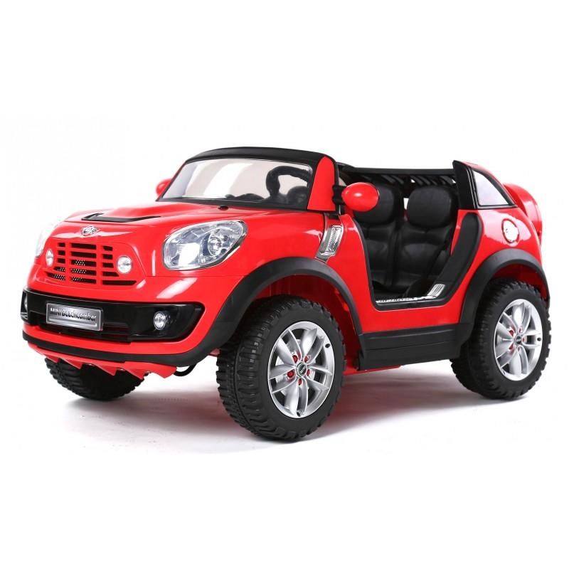 voiture lectrique pour enfant mini beachcomber deux places 12 v rouge. Black Bedroom Furniture Sets. Home Design Ideas
