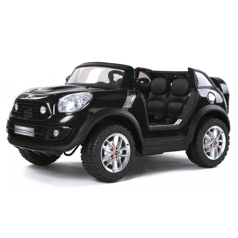 voiture deux places voiture lectrique ford ranger wildtrike deux places noire voiture. Black Bedroom Furniture Sets. Home Design Ideas