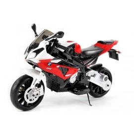Moto électrique BMW S1000 RR 12 V rouge - moto électrique pour enfant