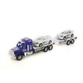 Camion transporteur de voitures téléguidé pour enfant - jouet pour enfant