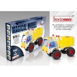 Camion benne en métal pour enfants - 245 pièces à assembler
