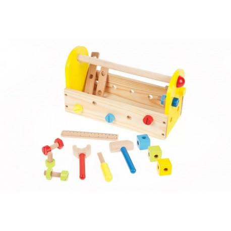 Petite caisse à outil en bois