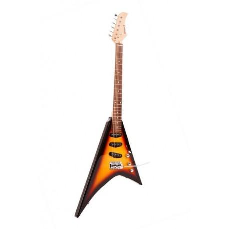 Guitare électrique EV Fortissimo - Sunburst