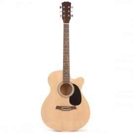 Guitare acoustique Fortissimo 4/4 pan coupé - bois