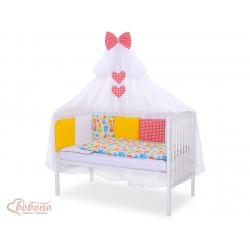 Parure de lit bébé complète Color mix Set 12