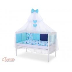 Parure de lit bébé complète Color mix Set 11