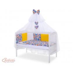 Parure de lit bébé complète Color mix Set 10