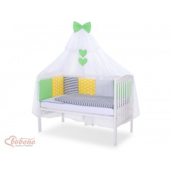 Parure de lit bébé complète Color mix Set 8