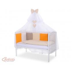 Parure de lit bébé complète Color mix Set 7