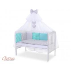 Parure de lit bébé complète Color mix Set 5